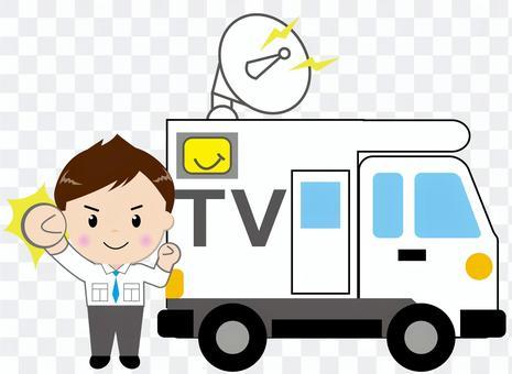 電視廣播車 - 帶人2