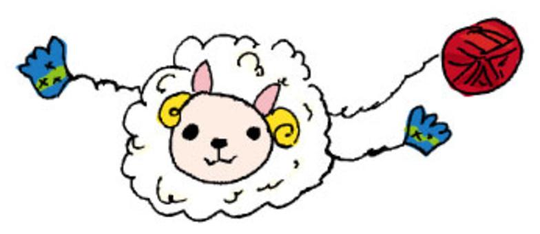 Kurukuru綿羊編織