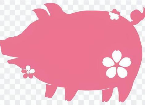 豬肉(櫻花)2