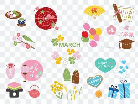 三月活動集