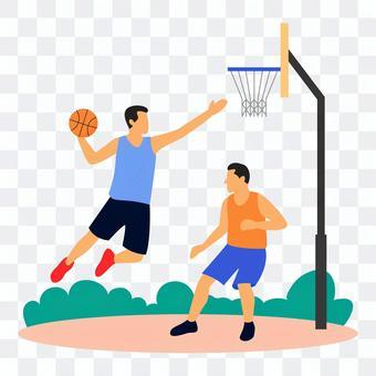 Men to dunk