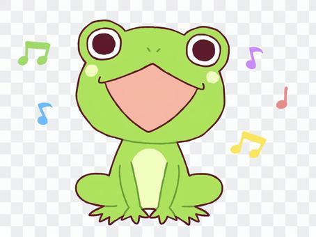 Singing frog 2