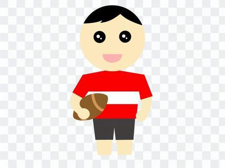 橄欖球運動員日本代表