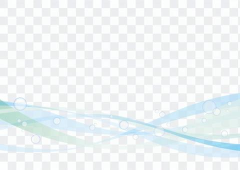 波浪和水滴_線材料01