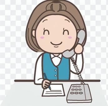 電話接線員