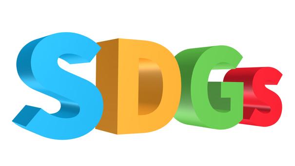 SDGs logo 3D transparent
