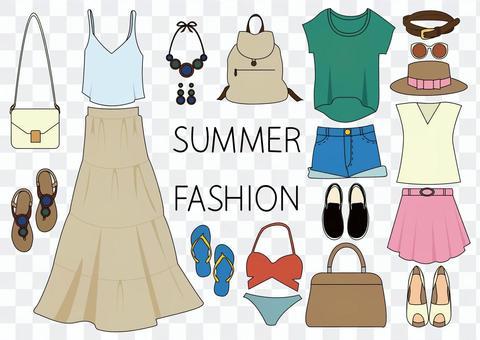 夏季時裝套裝
