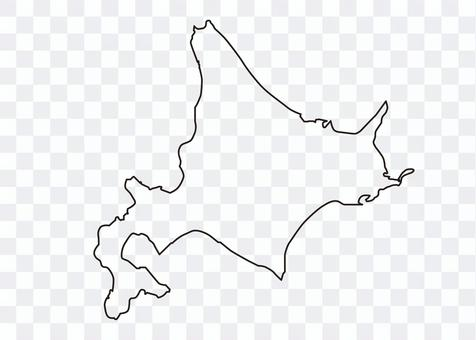 北海道_黒線