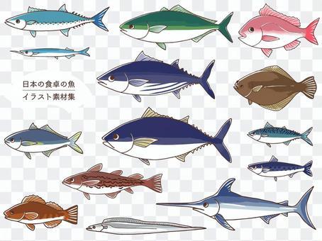 日本魚圖集合
