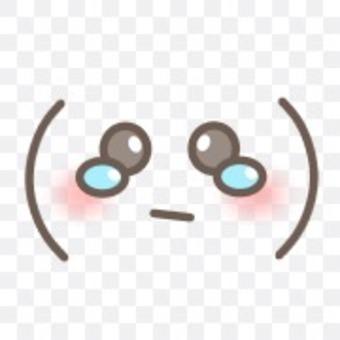 Emoticon crying sad tears face