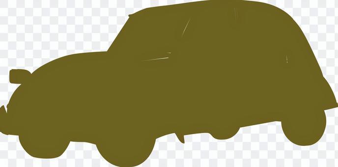 汽車剪影車