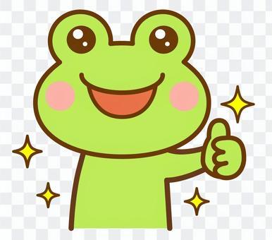 いいね グッド カエル 蛙