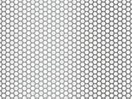 沖孔板壁紙(45px圓孔/銀)