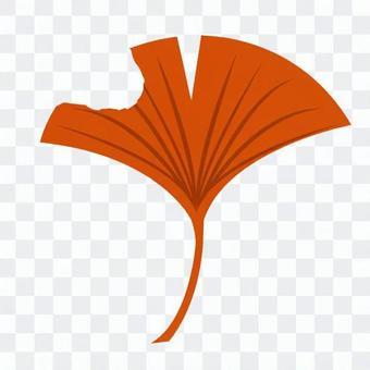 银杏叶(橙色)