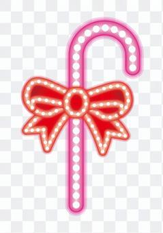 霓虹燈標誌棍子(白色背景)