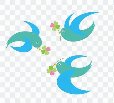 和平的鳥叫快樂