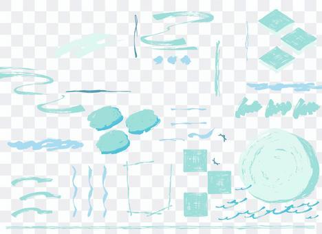 Brush layout A