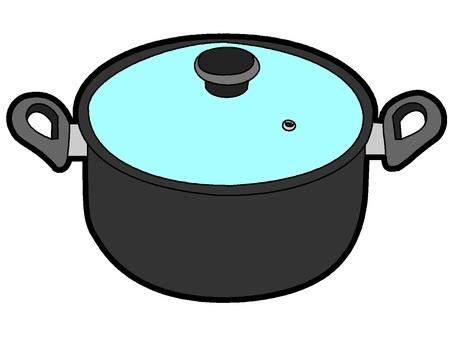 Pot (black)