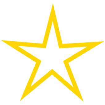 Star sharp star corner angle