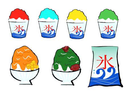 shaved ice