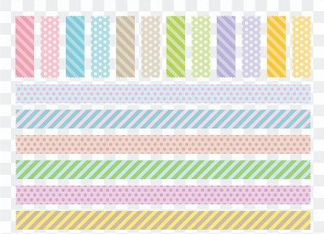 美紋紙帶鋸齒形剪彩
