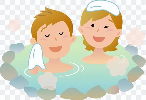 70326旅行者,混合洗澡