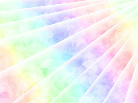 虹彩懸垂背景奢華