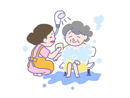 Bathing assistance