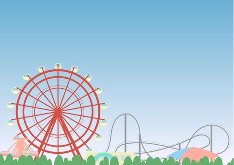 Daytime amusement park