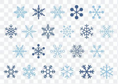 雪の結晶コレクション