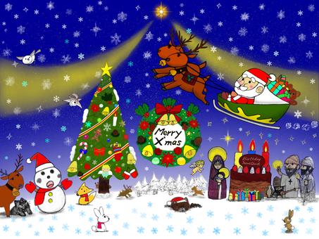 聖誕場景_2021