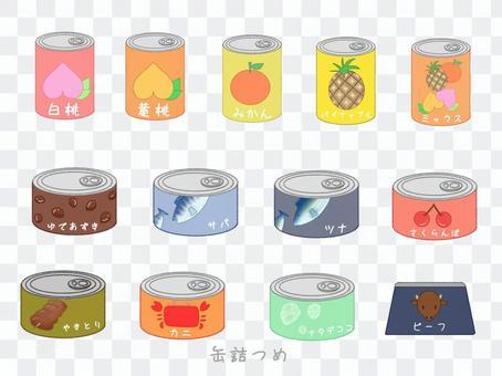 シンプル かわいい 缶詰 セット