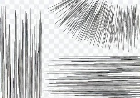 漫畫效果線速度