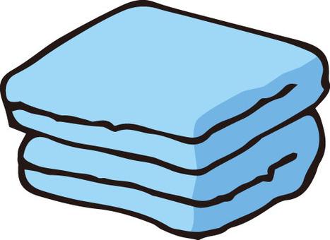 Towel (blue)