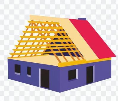 建設中的房子