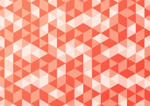 簡單的背景與幾何圖案紅色