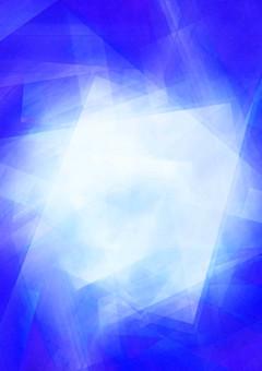 中心が白く輝く青背景