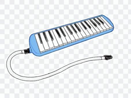 鍵盤口琴14(彩色)