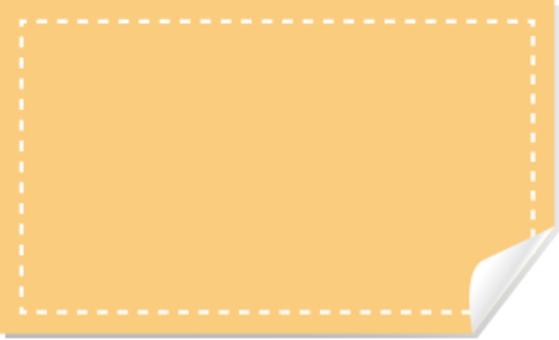 橙色標籤縫紉機可用