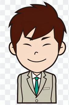 新招聘的男性員工(Nikkori)