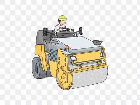 滚筒车(压路机)