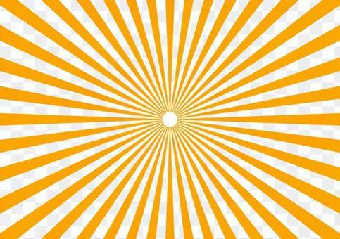 輻射罰款橙色