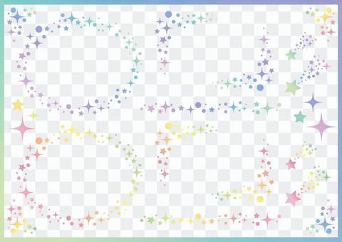 小星星框架集02