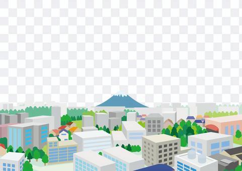 富士山風光