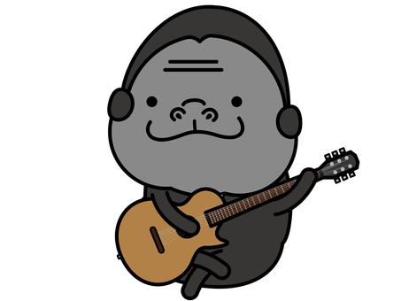大猩猩原聲吉他