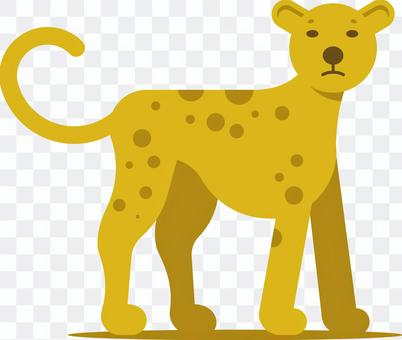 チーター ジャガー 豹