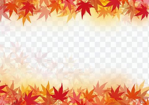 秋天的楓葉秋天背景材料紋理壁紙裝飾