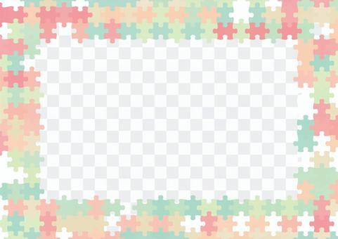 パズルピースの背景03