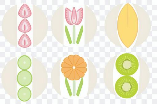 水果三明治圖標分類