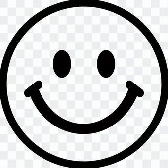 스마일 쨩 미소 마크 소재